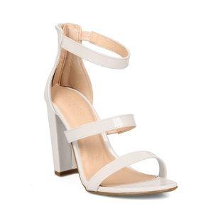Becca-06 Two Piece Women's High Heel Sandals
